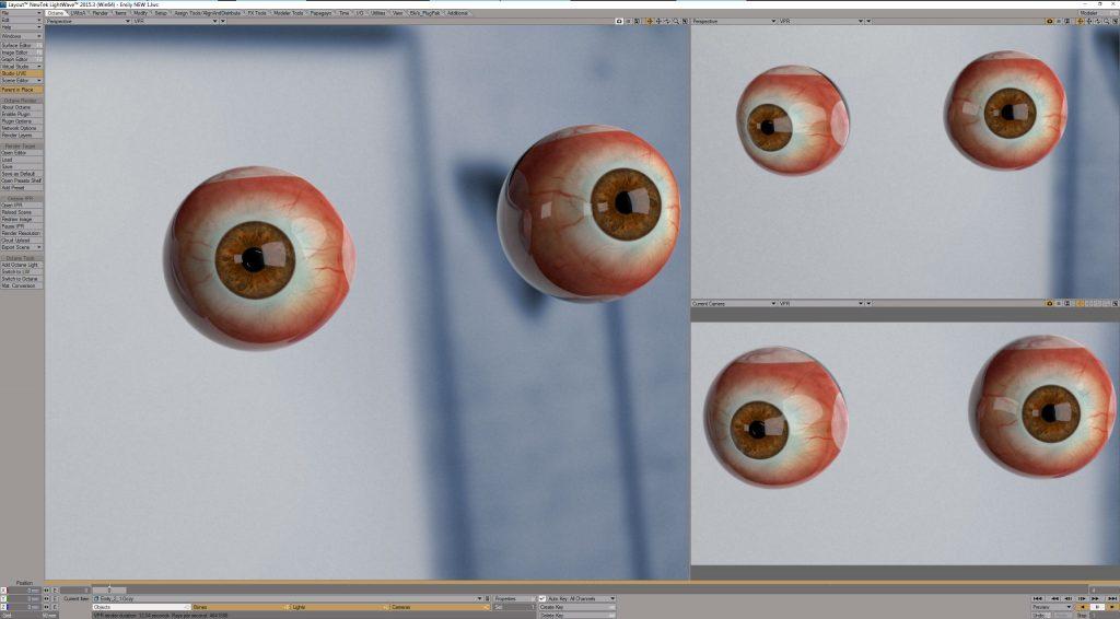Oczy 3D, 3D Eyes