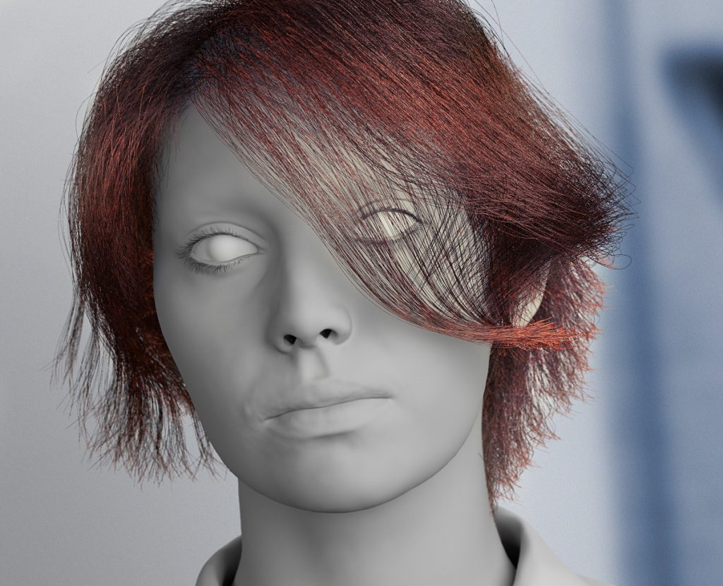 3D włosy, CG hair