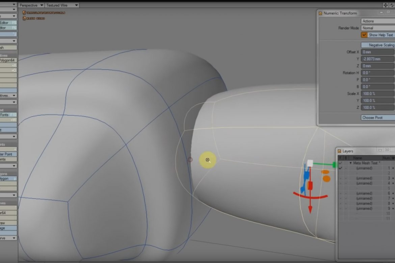 MetaMesh SubPatch Modeling Tool.