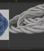 Rope-Editor-Plus, modelowanie 3d