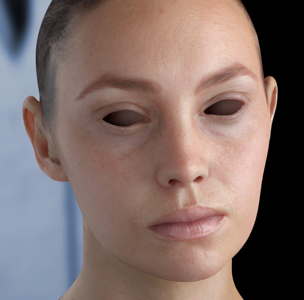 Skin Shader, Realistic 3D Skin.
