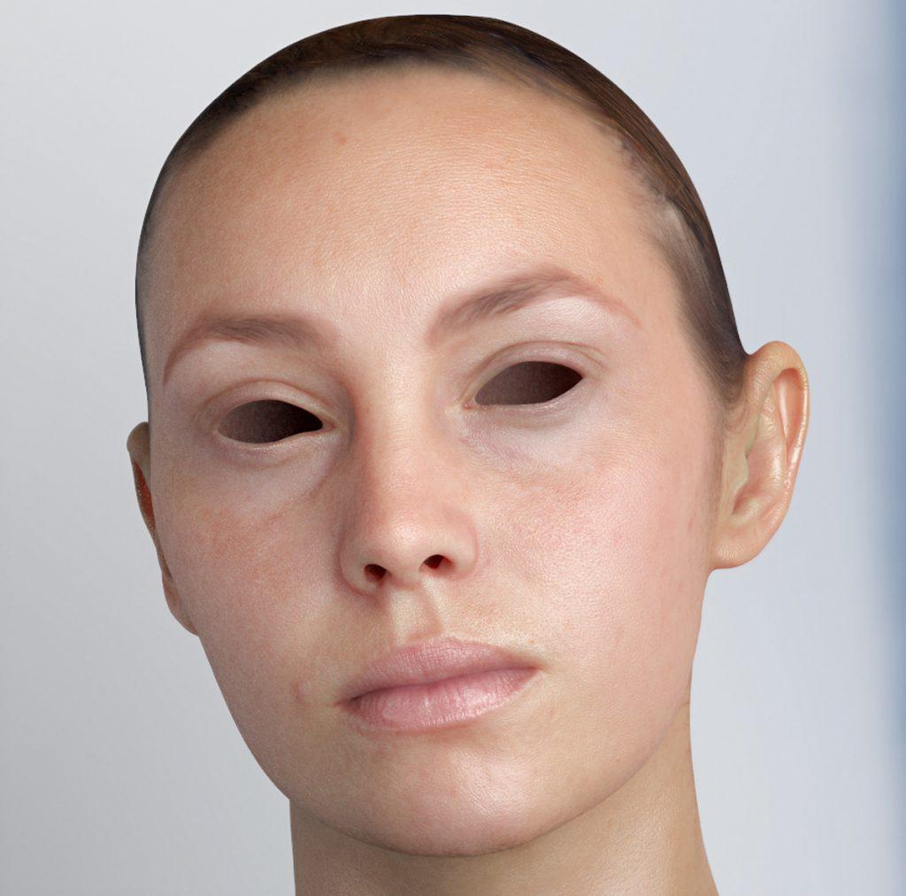 SSS Shader, Realistic 3D Skin.